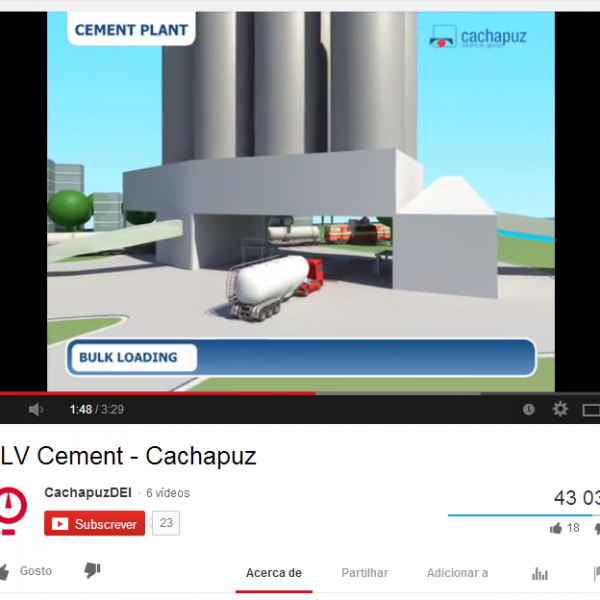 Did you know that our SLVCement video has more than 42.000 views in our youtube channel?